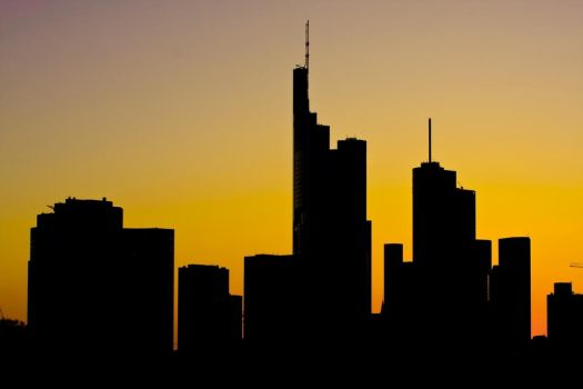 Frankfurt Sunset by deoroller