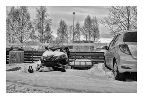 Parking in Lapland by wchild