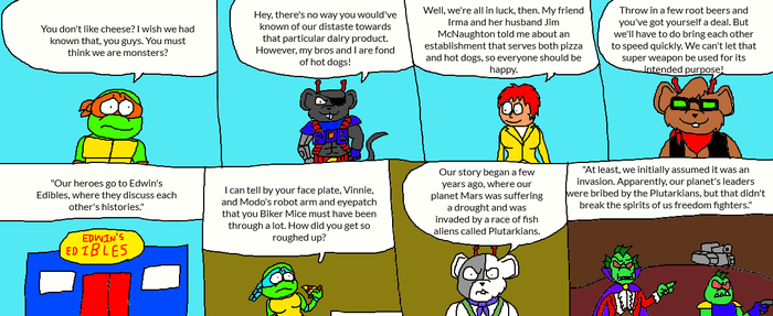 Turtles Met Mice Page 2 by LuciferTheShort