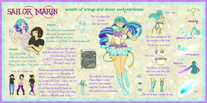 Sailor Marin by thelettergii