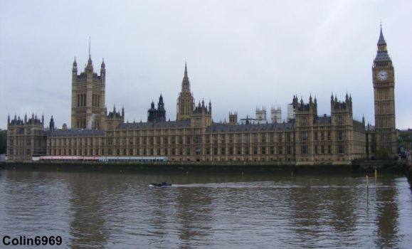 Palace of Westminster by colin6969