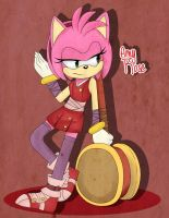 Sonic Boom: Amy by AnaP15