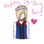 Happy Birthday Yurio by pinkDiamond1362