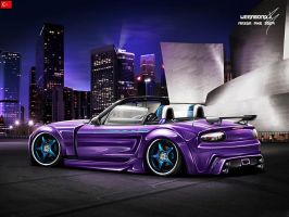 mazda mx5 by wegabond