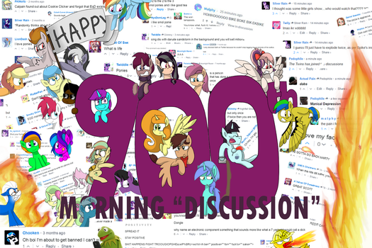 Happy 900th Morning Discussion by RozzerTrask