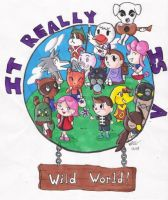 Animal Crossing circle of YAY by BakumatsuSlayer