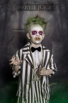 My grandson beetlejuice by Veeutiful