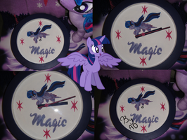 Twilight Sparkle clock by AD-Laimi