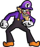 Waluigi by Fawfulthegreat64