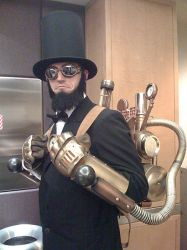 Steampunk Abe Lincoln Costume by StudioCreations
