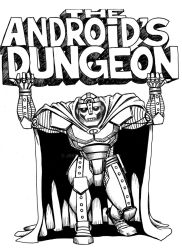 the Android's Dungeon logo desighn 1 by JEB73