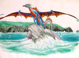 Cornish Dragon by Hareguizer