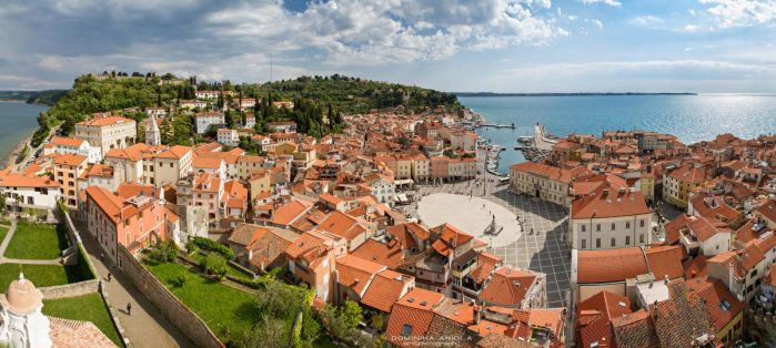 Piran panorama by DominikaAniola