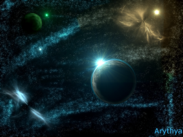 Space 2 by Arythya