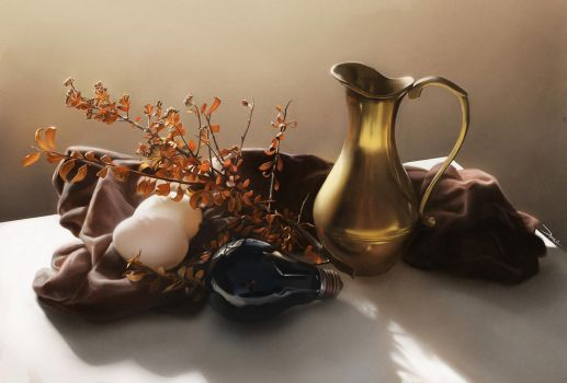 ImagineFX Still Life Workshop by damie-m