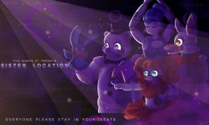 FNAF Sister Location: New Show by TogeticIsa
