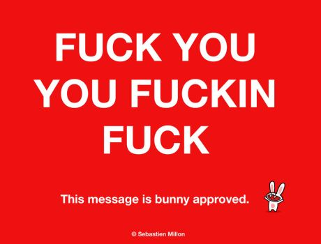 This Message is Bunny Approved. by sebreg