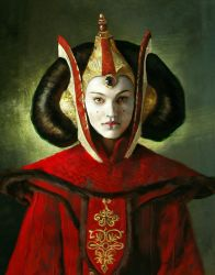 Padme_Painting practice by Surimy