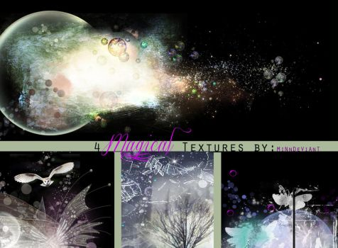 4 Magical PreMade Background/Textures by VaLeNtInE-DeViAnT