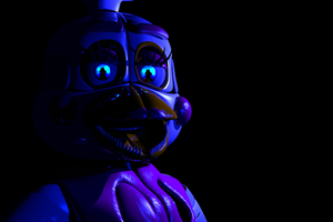 (C4D)Funtime Chica by SpringBonnieNotTrap