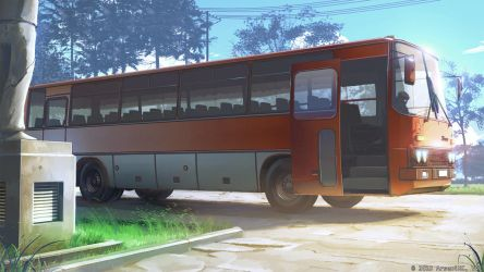 Ikarus bus by arsenixc