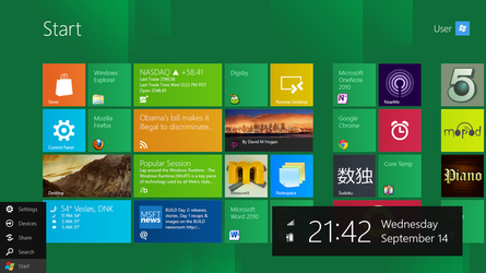 Windows 8 Build 8102 by fediaFedia