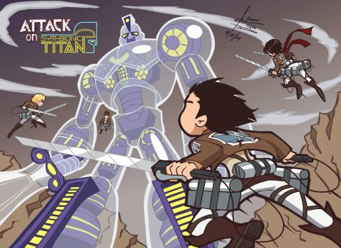 Attack on Sym-Bionic Titan by GroundUpStudios