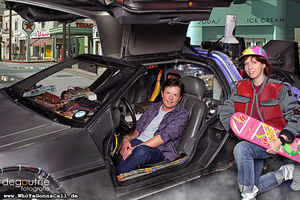 Michael J. Fox, deLorean and me *___* by kathy1602