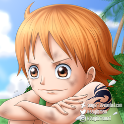 One Piece - I'm not going to cry anymore!! by SergiART