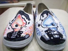 Shoes Liquido and Flamido by fer-fer