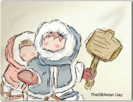 Ice Climbers by deep4t