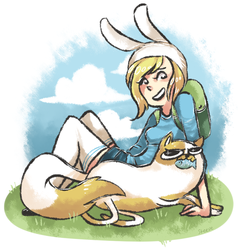 AT: Fionna and Cake by TheKnysh