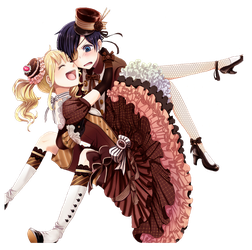 Ciel x Lizzy Valetine png by theWhiteDEVIL66
