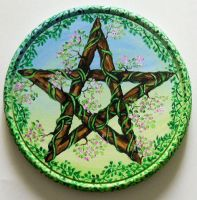 Spring pentacle by oshuna