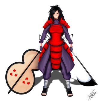 Female Madara design by Strauss95