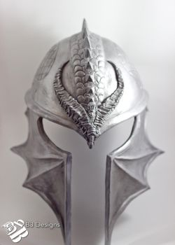 Dragon Age Inquisition: Inquisitor's Helmet by b3designsllc