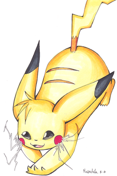 Pika Spark! by Masae
