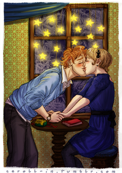 Remember our first Christmas? by caroll-in