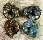 4 Dragon Bottle Cap Nesters by CatharsisJB