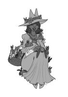unknown witch 3 by isawic