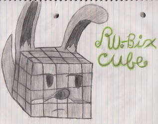 Putting the Ru in Rubix Cube by VeronicaPrower