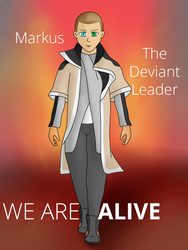Markus. Detroit: become human. by MuskyCat90