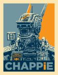 Chappie Poster by Mike-the-Vector