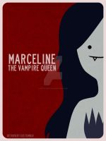 Marceline The Vampire Queen by retro-vertigo