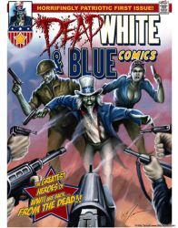 Dead White and Blue Comics 2 by billytackett