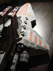 Republic Star Destroyer - Revell model (2) by Drazeree