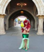 Ariel at the Castle by TheRealLittleMermaid