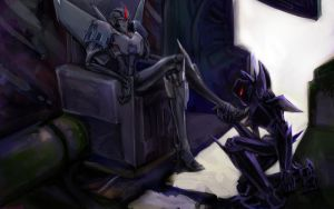 Makeshift, Starscream by ayhy