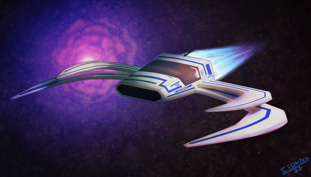 Fighter-Spaceship by Tedwin-Knockman66
