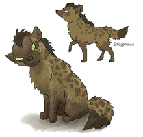 Mesmerize the Dream Hyena by Katemare